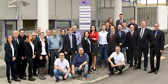The team of DataPhysics Instruments GmbH