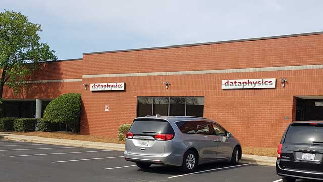 The DataPhysics Instruments USA Corp. headquarters in Charlotte, North Carolina