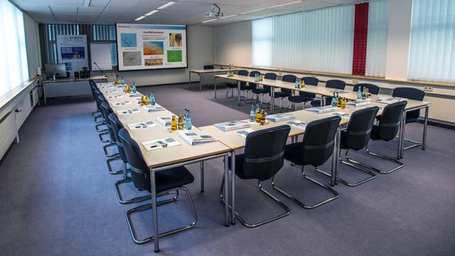 Seminar room in the DataPhysics Instruments training center