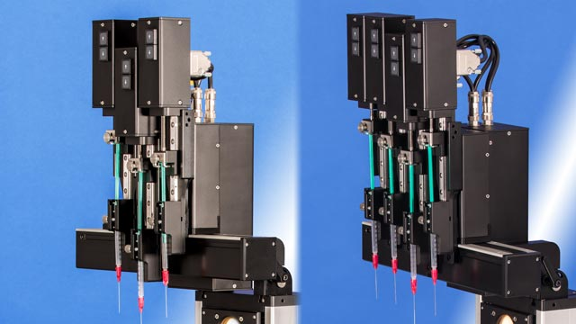 Threefold and fourfold electronic direct dosing systems DDE/3 and DDE/4