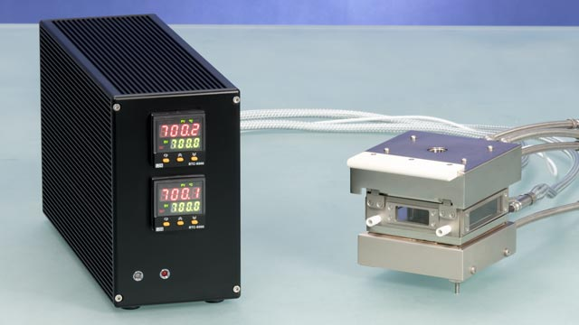 Electrical temperature control unit TEC 700 with temperature controller for up to 700 °C